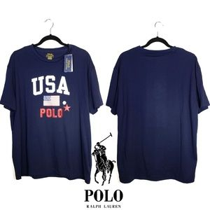 Polo Ralph Lauren USA Polo Classic Fit T-Shirt, L
